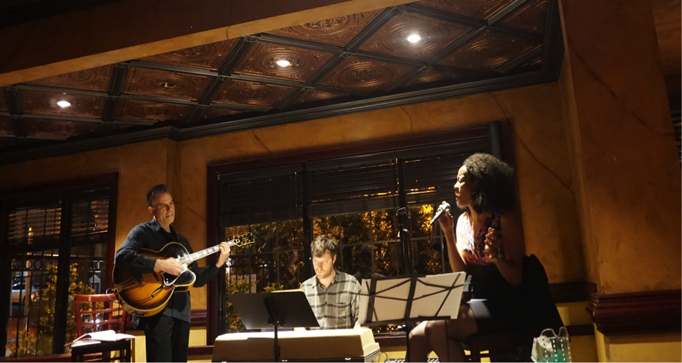 Appearing in Ricalton Village Tavern at Jazz Tuesday's (April 15th) - Wilma Ann and The Jazz Disciples. Image Credit: Gregory Burrus