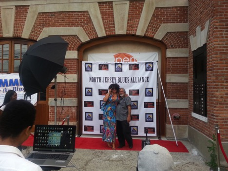 Image: Gregory Burrus.  Patrick Hilaire Photography in action at Blues Muse Step and Repeat