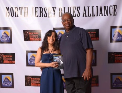 Gregory Burrus with Debra Devi proudly supporting The Language of the Blues from Alcorub to Zuzu.