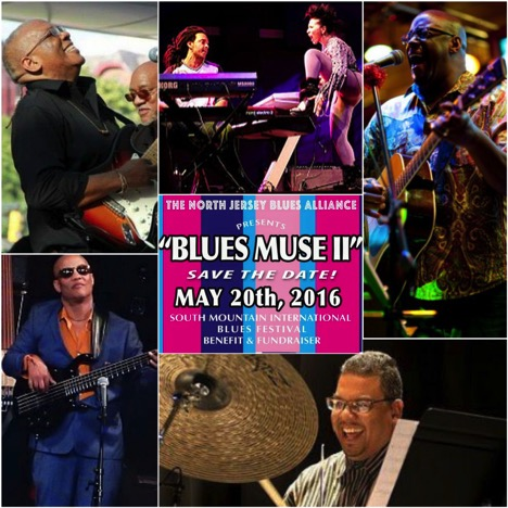 Image: Gregory Burrus.  Musicians ready to rock Blues Muse 2016