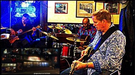 John Lee Trio - John Lee Bass, Dave Stryker – Guitar, Tommy Campbell Percussion.  Image: Gregory Burrus.