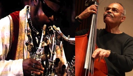 Rashaan Roland Kirk- Multi Instrumentalist, Earl May -Prolific Bass Player -Image Composite Gregory Burrus