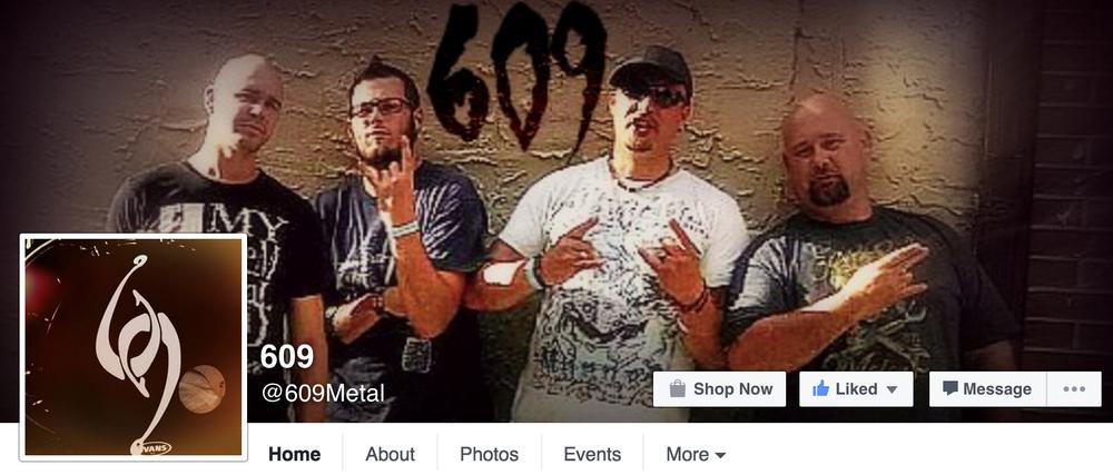 www.facebook.com/609metal