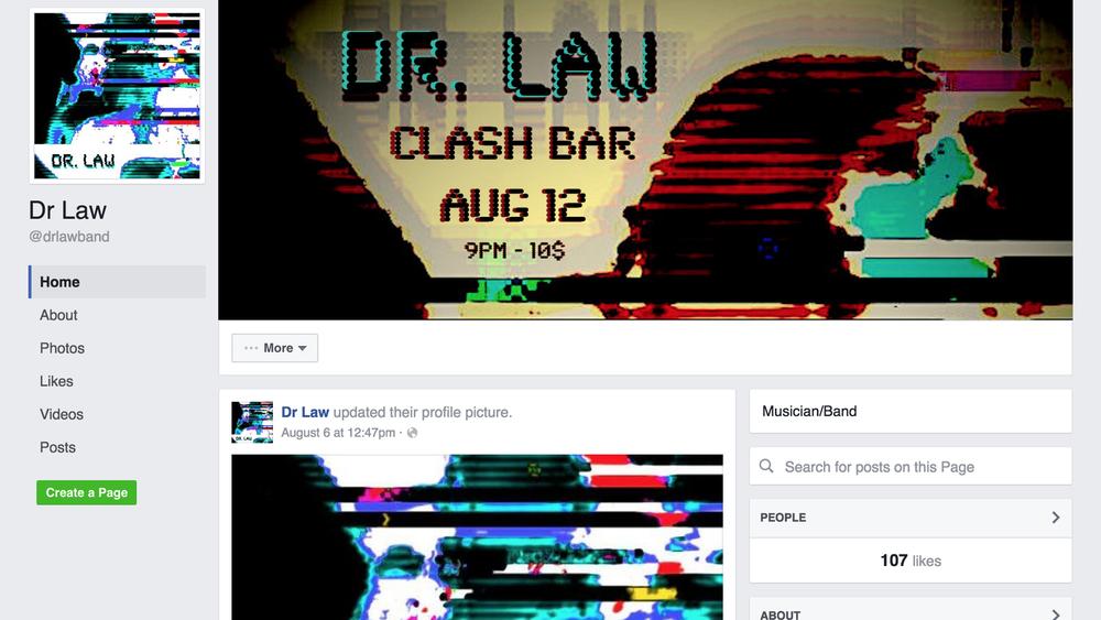 facebook.com/drlawband