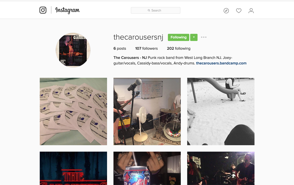 instagram.com/thecarousersnj