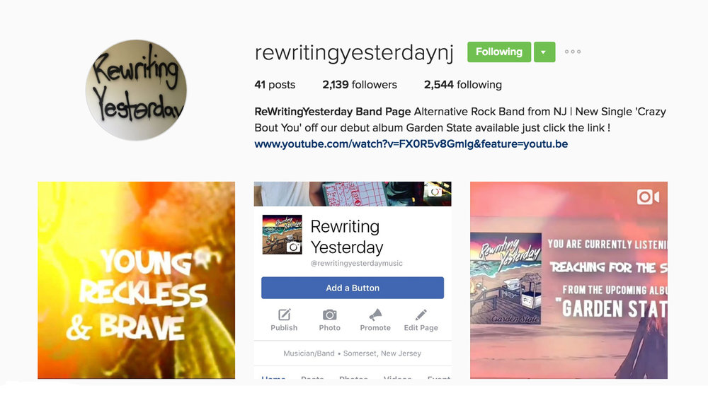 instagram.com/rewritingyesterdaynj