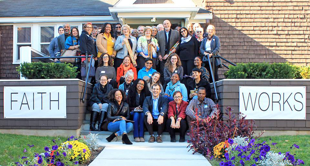 """There are many houses in Orange that are a hundred years old, including the First Unitarian Universalist Church, home to The HUUB.  This year the church celebrated its 125th anniversary with a housing justice conference..."" - Patricia Rogers"
