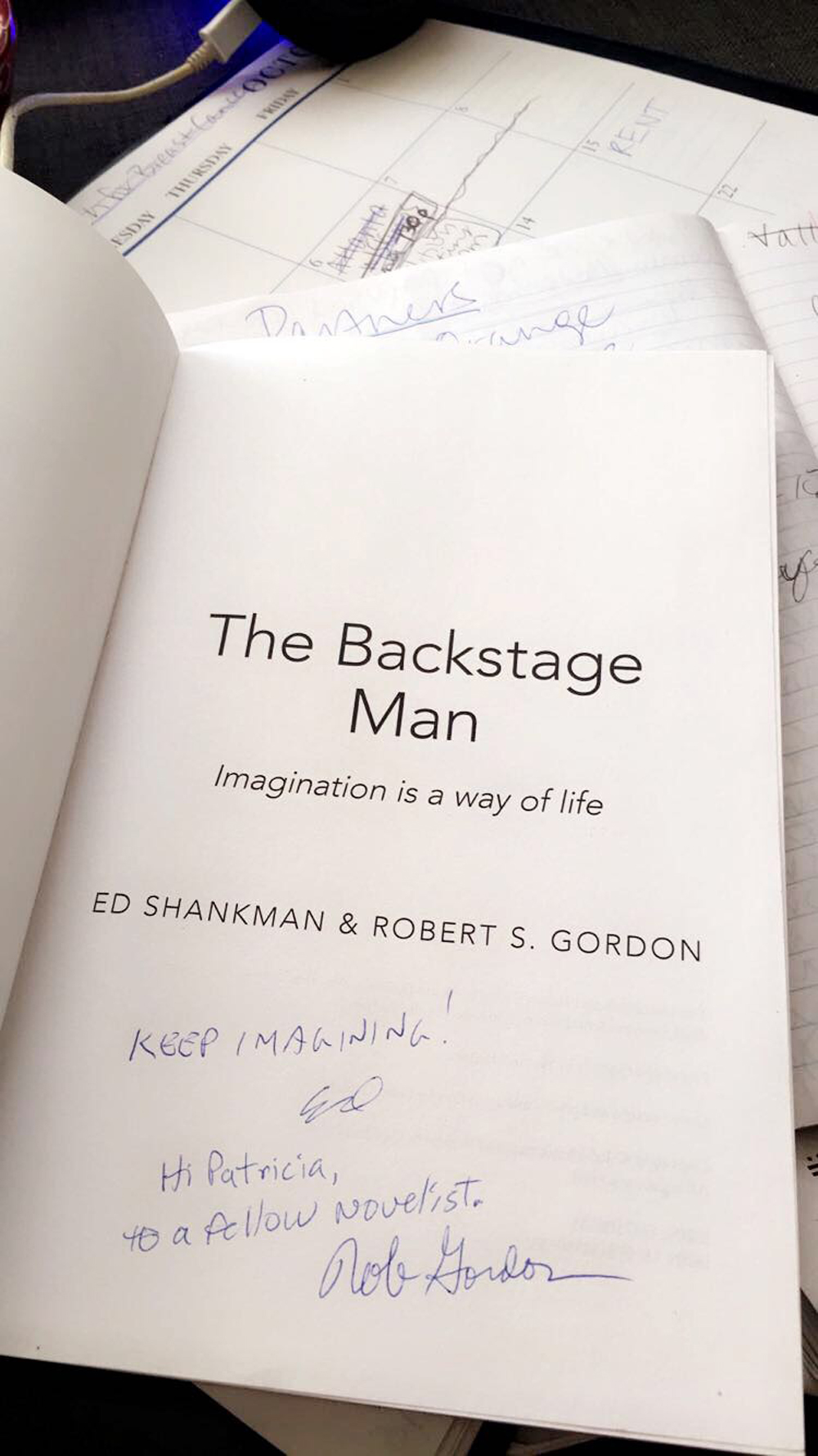 The Backstage Man