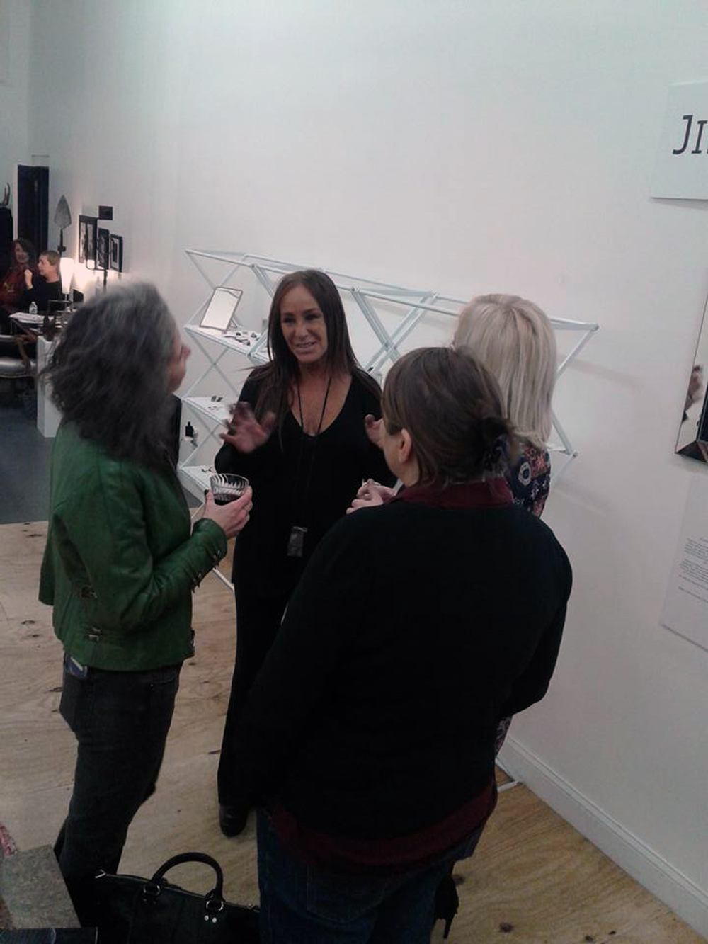With Catherine Delett and Jill Weissman Herlands at Gallery OVO 2.jpg