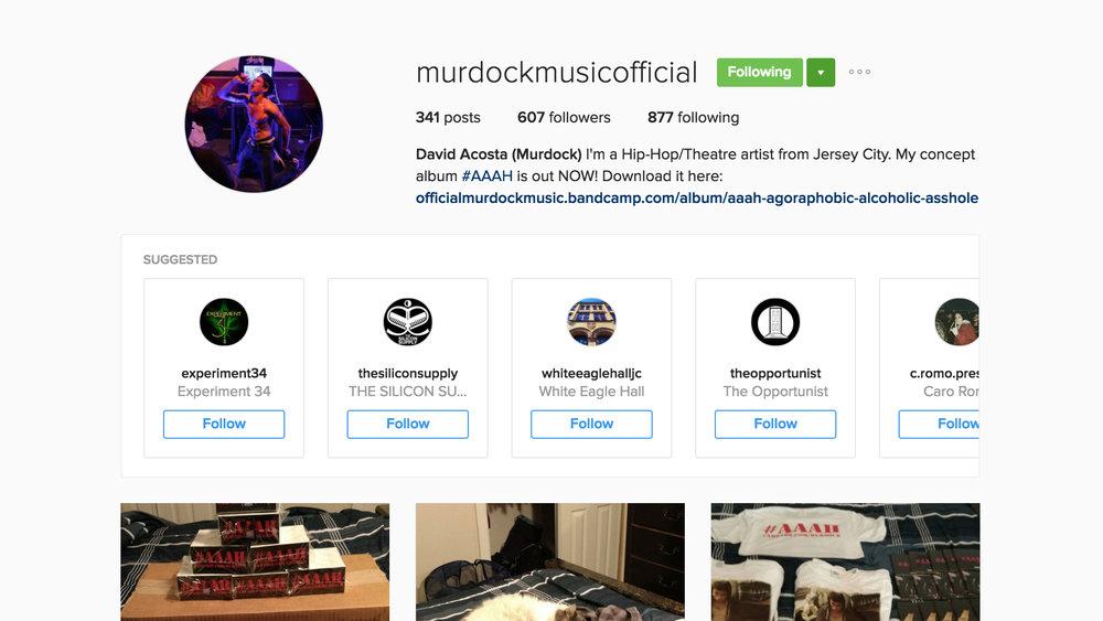 Instagram.com/murdockmusicofficial