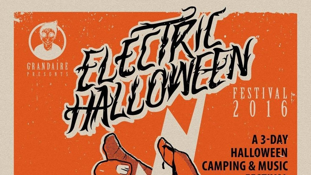 Electric Halloween Festival (Oct. 28-30, 2016) Music, entertainment, art, vendors Hammonton, NJ Posted October 6, 2016