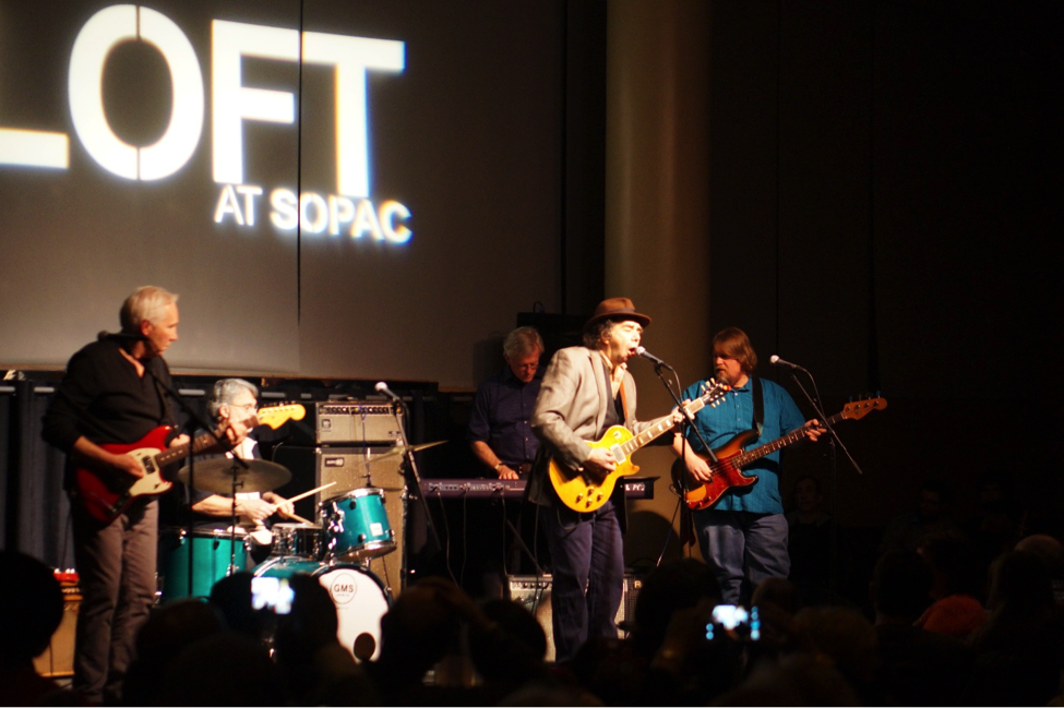 Al Gold with Hat City Kitchen House Band at SOPAC