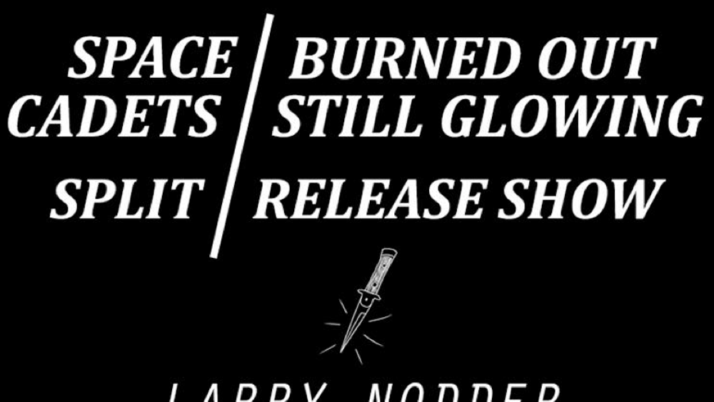 SPACE CADETS,  BURNED OUT STILL GLOWING RELEASE SHOW (Feb. 4, 2017)   Emo, Math Rock, Alternative Pop, Alternative Rock, Indie, Pop Punk    Clementon, NJ   Posted Thursday, February 2, 2017