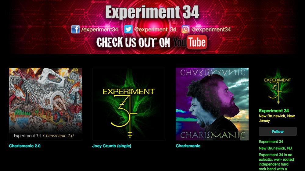 Experiment34music.bandcamp.com