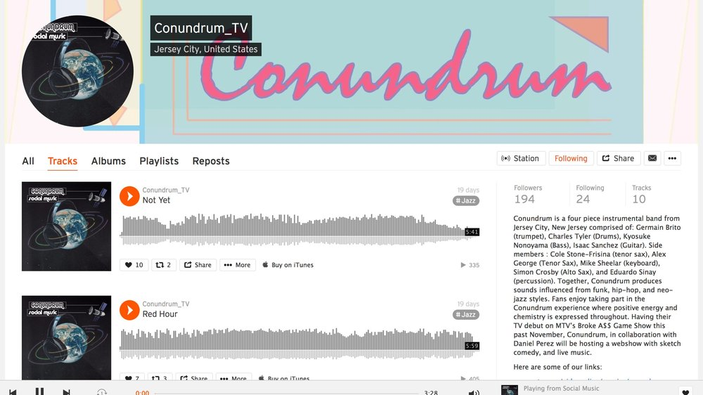 Soundcloud.com/conundrum_tv