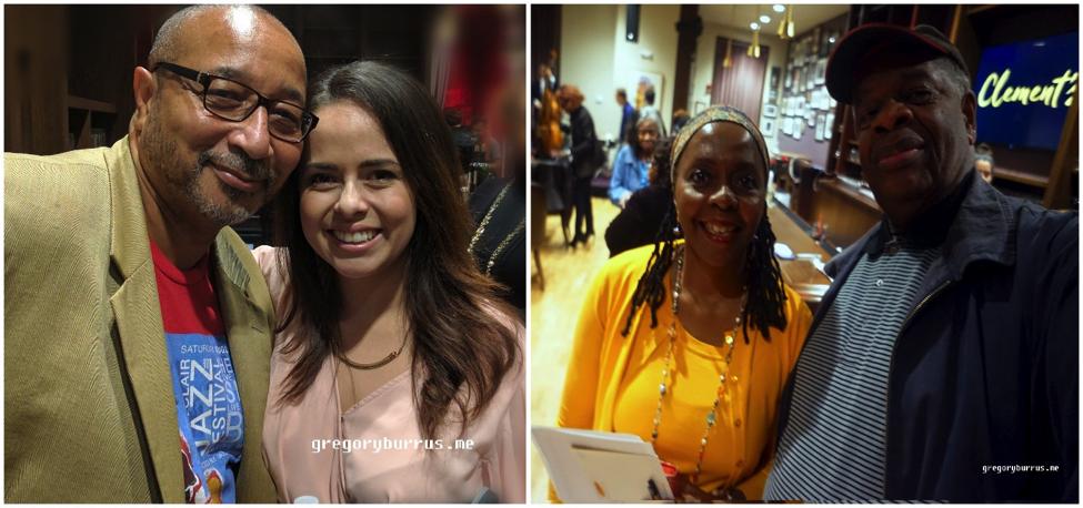 Walter Winborne &Vocalist Candace Reyes Mirelis |Donna Walker Kuhne &Gregory Burrus
