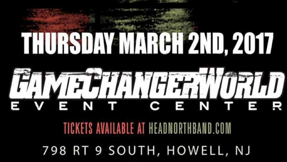 GAMECHANGERWORLD SHOW (March 2, 2017)   Pop-Punk, Rock, Pop-Rock, Alternative, Punk    Howell, NJ   Posted Tuesday, February 28, 2017