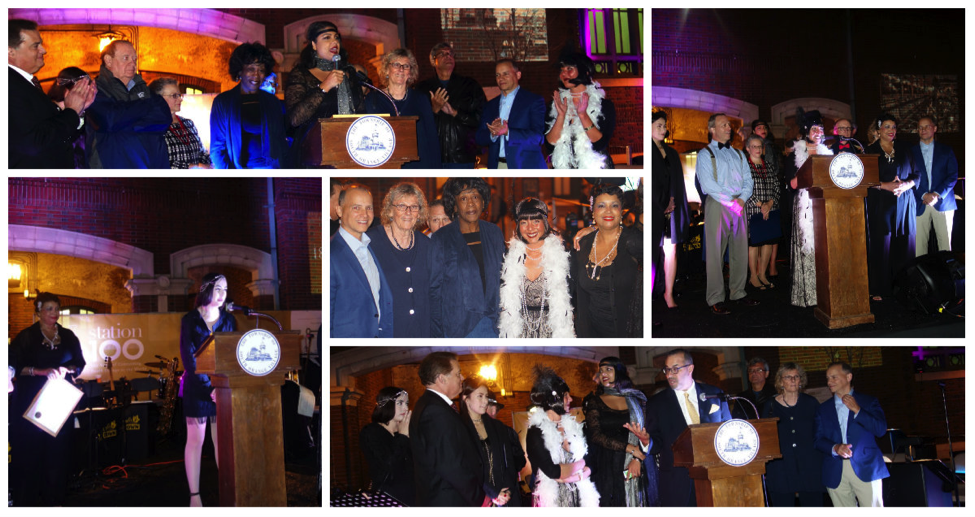 Dignitaries – county and community leaders in attendance