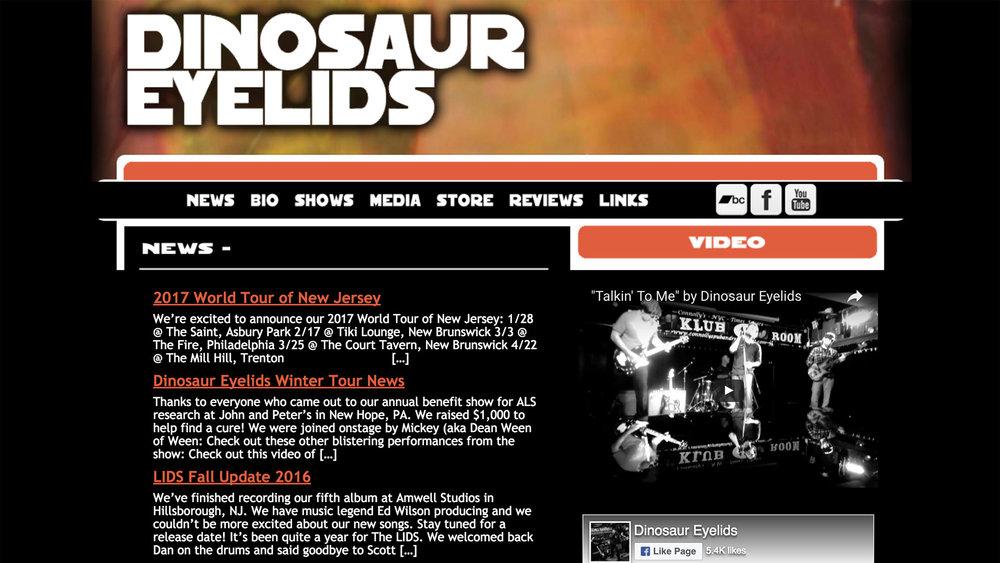 dinosaureyelids.com