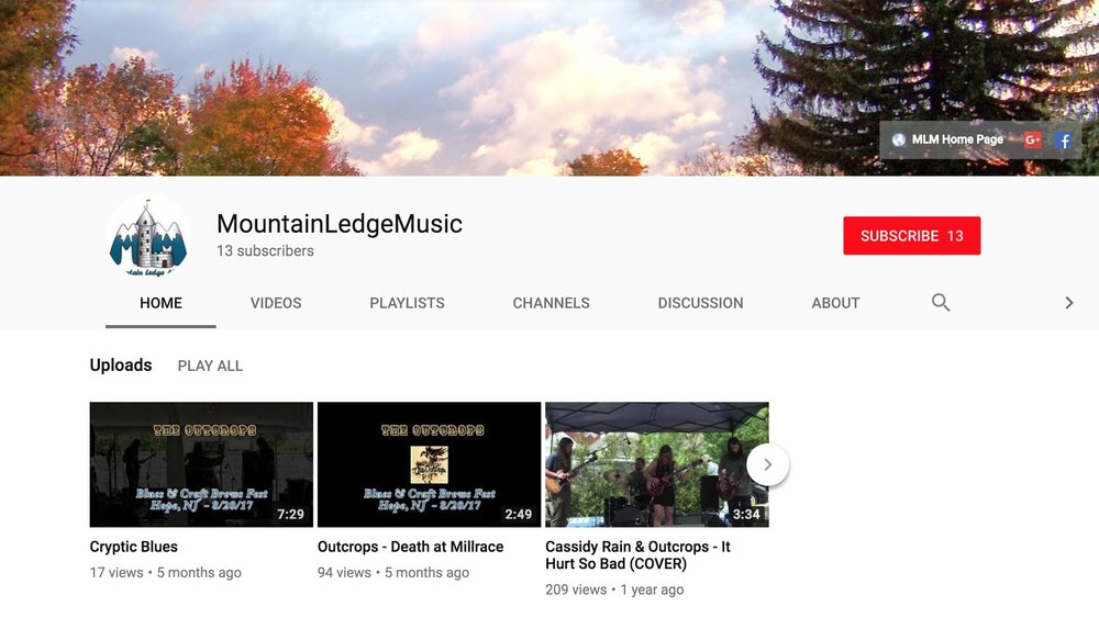 www.youtube.com/user/MountainLedgeMusic