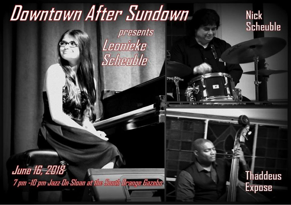 Leonieke Scheuble Trio in Downtown After Sundown 2018