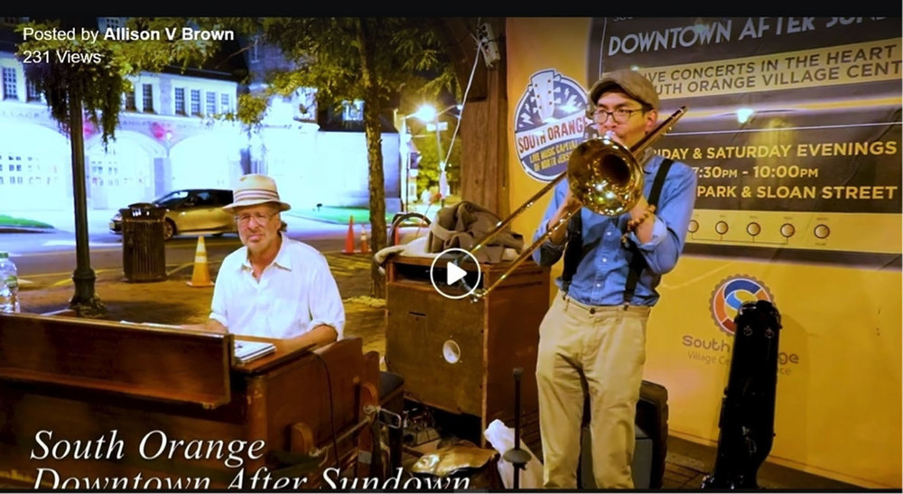 Allison V Brown production -Schwartz- Sanity in Downtown After Sundown