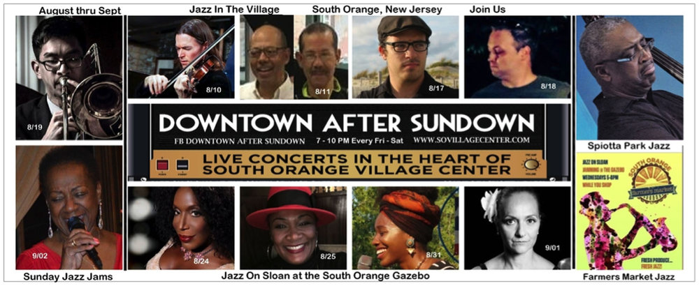 2018 Downtown After Sundown Jazz in the South Orange Village