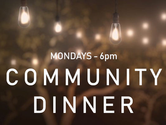 Click Here for Info on the Community Dinner