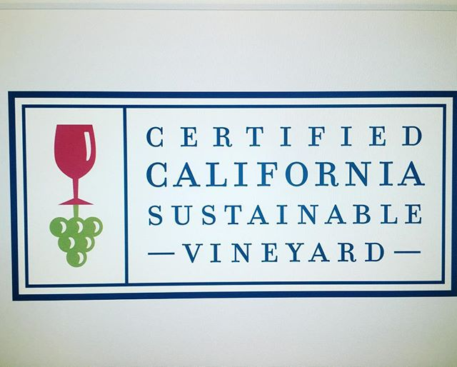 It's an honor to be included in the latest round of certified California sustainable vineyards! This would not have been possible without the careful stewardship and dedication of our phenomenal vineyard manager Margo and the crew. Thanks, guys! #alexandervalley #sonomacounty #sustainable #sustainablefarming #cswa #winewednesday