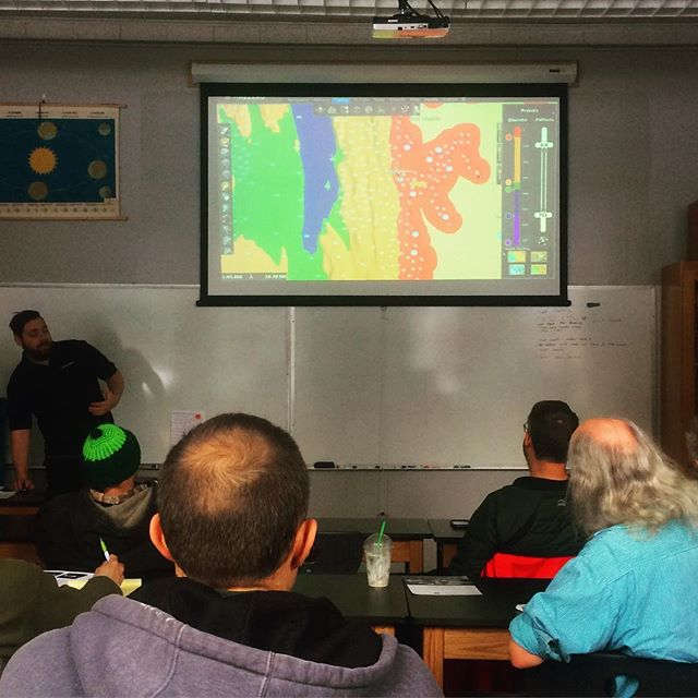 Sitka fishermen are trained in bathy metric mapping techniques by a representative from @nobeltectz - our fishery conservation network fishermen use and share this mapping technology to avoid catching bycatch, or the types fish that they aren't fishing for. #sustainablefish #conservation #oceanhealth #nobeltec @sitkascience