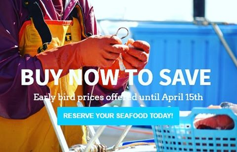 We're baiting up. Are you ready? Join our community supported fishery program and support fishery conservation work. Ideas and fish sourced straight from local fishermen! Visit Alaskansown.com and buy by April 15th for a 10% discount!