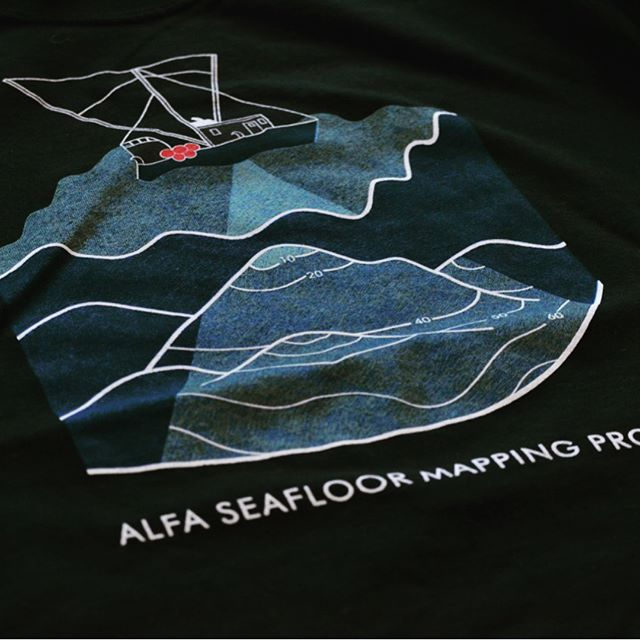 Our fishermen have banded together to share seafloor mapping data that helps everyone to fish more efficiently and reduce bycatch and waste. A local graphic designer helped us create our latest seafloor mapping tees to celebrate and illustrate this project. Support local fish and wear your AO/ALFA swag with pride- get yours today at alaskansown.com  Hey, @oprah - come by the Alaska Longline Fishermen Association's office at 834 Lincoln Street in Sitka (upstairs in the science center) to get your tee- our treat :) #sustainablefish #oprah