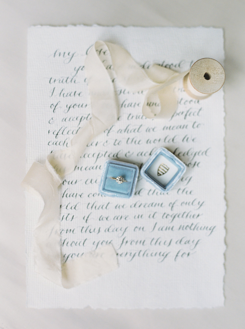 Calligraphy: Spurlé Gul Studio | Photography: Simply Sarah Photography