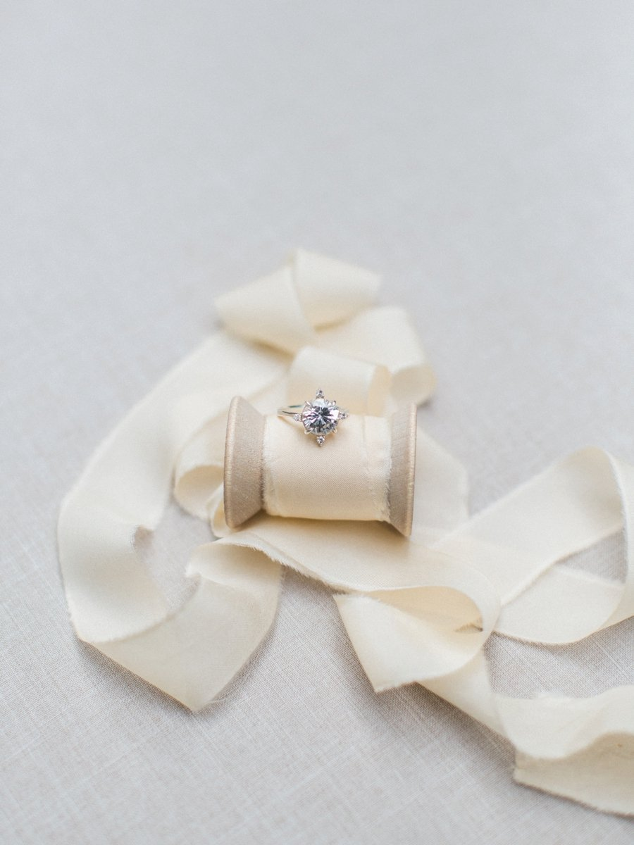 Paper Goods & Calligraphy: Spurlé Gul Studio | Photography: Simply Sarah Photography | Planning & Creative Direction: Elleson Events | Venue: Swan House | Ring: Susie Saltzman