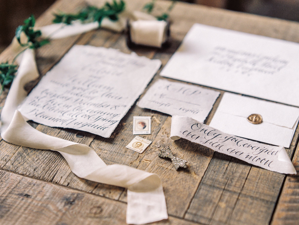 Photography: Lissa Ryan Photography | Planning: The Velvet Veil | Paper & Calligraphy: Spurlé Gul Studio
