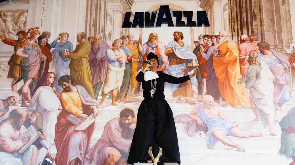 Erykah Badu for Lavazza PARTNERSHIPS