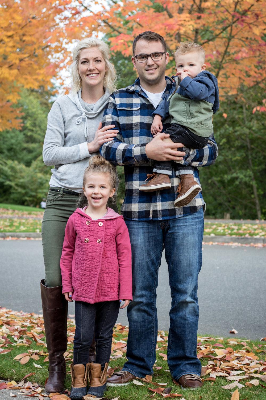 Snoqualmie Fall Family Photos
