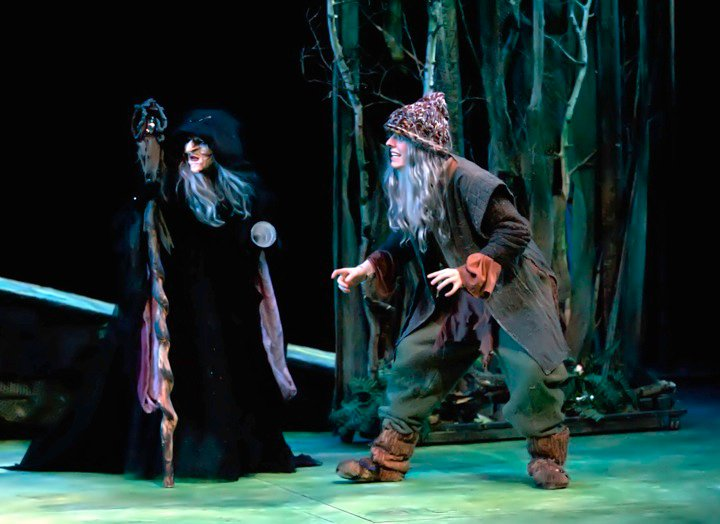 The Mysterious Man in Into the Woods