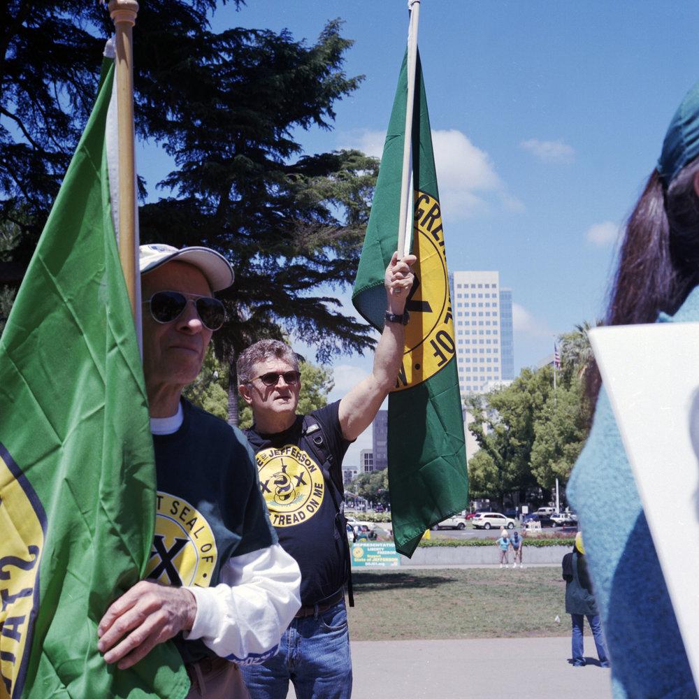 SoJ Protest in Sacramento, May 2017