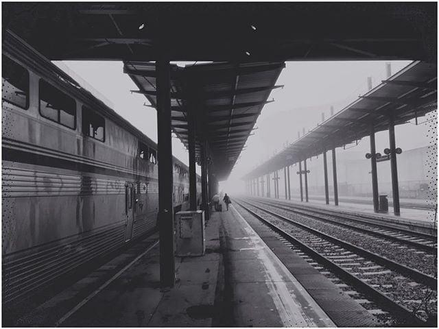 Cinematic Railway from the Amtrak Station in Seattle all the way to LA.  #amtrak #amtrakgram #amtraklife #blackandwhite #bandw #bwphotography #bw_photooftheday  #mattmosher #railtrip #windowworld  #theculturetrip