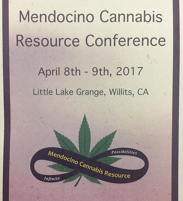 We're having a great time at the Mendocino Cannabis Resource Conference. Emily will be talking pesticides at 3:30 - see you there! #cannabiscommunity  #mendocino #cannabis #cannabispolicy #cannabistesting