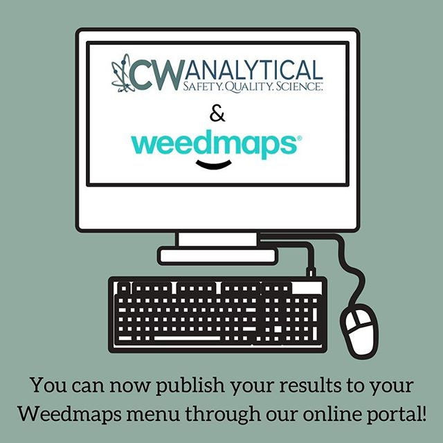 We are so excited to announce that you can now publish your test results directly to your @weedmaps menu through our online portal! Read the full press release via the link in our profile.