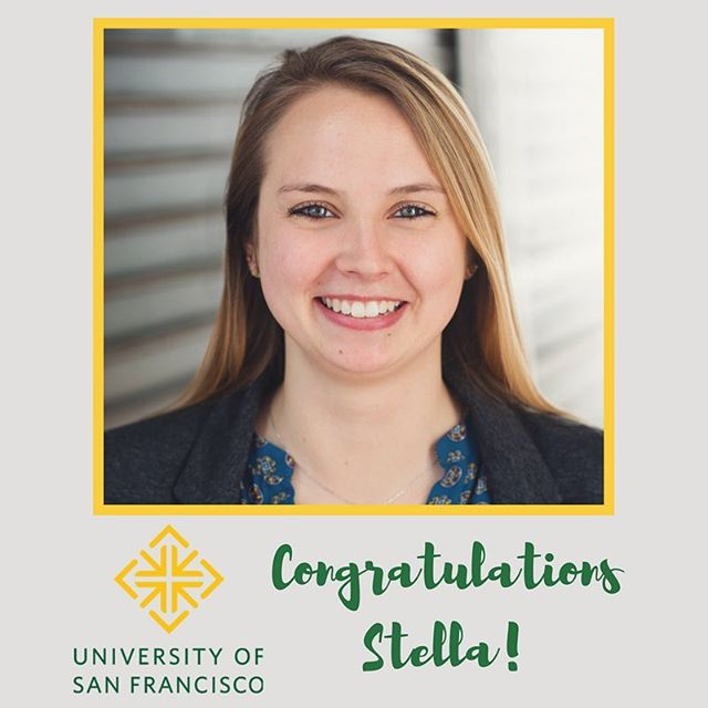 Congratulations to our chemistry lab manager, Stella, for being accepted into the @usfca Master's Program in Chemistry! We are all so proud, and can't wait to see what she will be up to next!