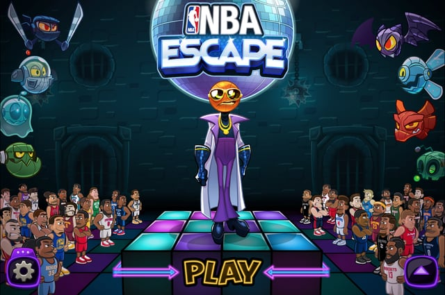 NBA Escape Title Menu
