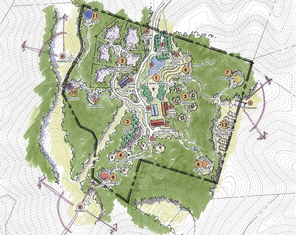 ECO-HAVEN :  : Site Plan