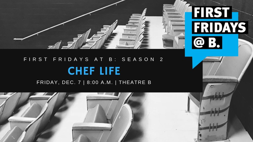 Friday, December 7 -  Our final First Fridays of 2018 featured three local chefs: Andrea Baumgardner of BernBaum's, Patricia Hanson Vetter of Prairie St John's, and Travis Rosenbluth of Harvestable.
