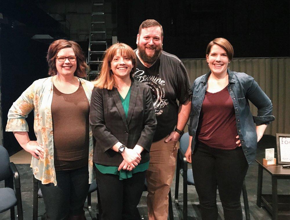 Megan Lewis, Rachel and Jeremiah Utecht, Casey Steele