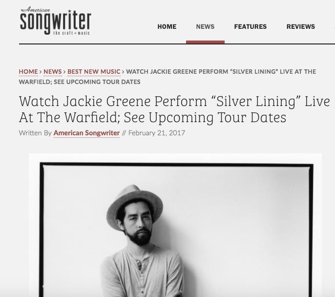 American Songwriter Premieres