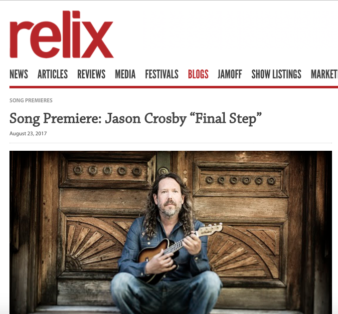 Relix Song Premiere: Jason Crosby