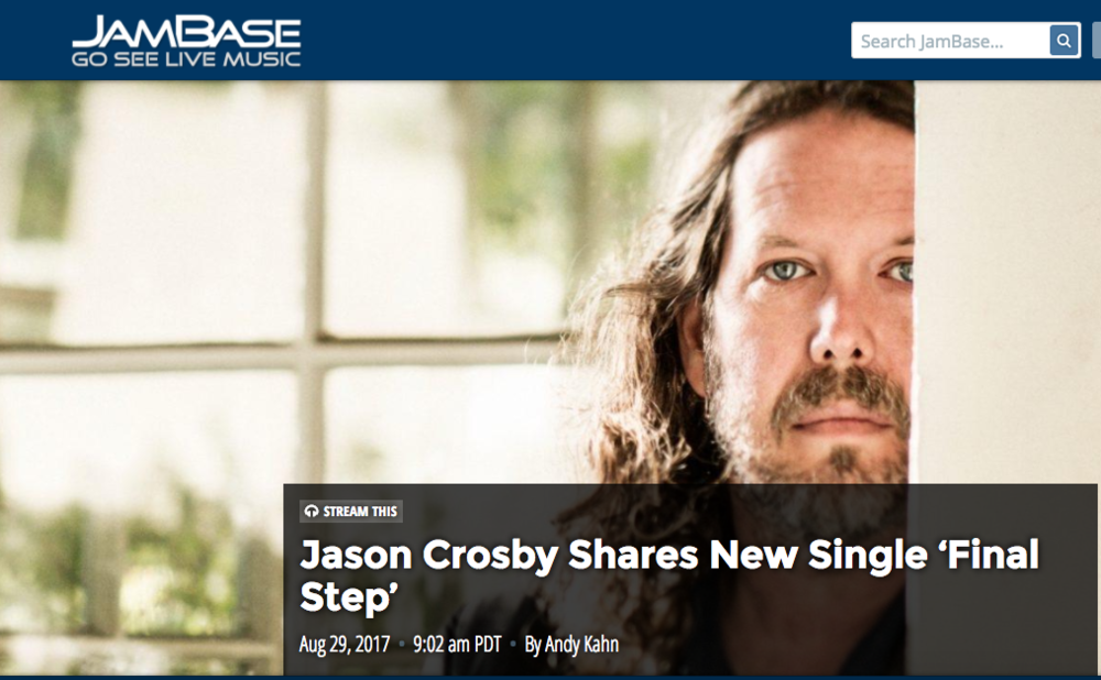 Jason Crosby Shares New Single